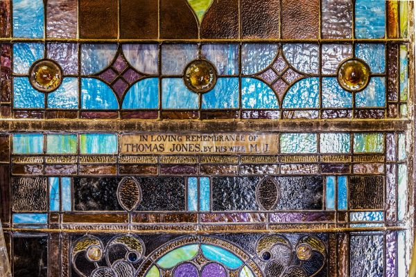 The Plat Stained Glass Window